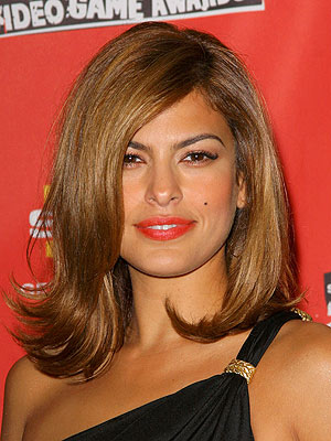 Eva Mendes Hairstyles Pictures