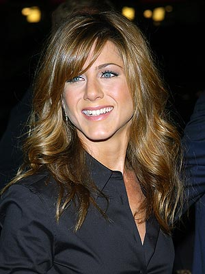 Jennifer aniston bangs 2