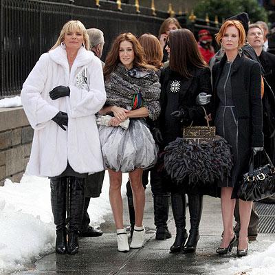 WINTER WONDERLAND photo | Cynthia Nixon, Kim Cattrall, Kristin Davis, Sarah Jessica Parker