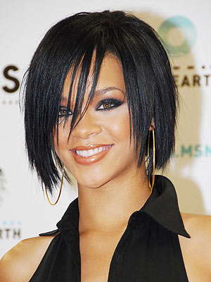 Rihanna new hairstyle