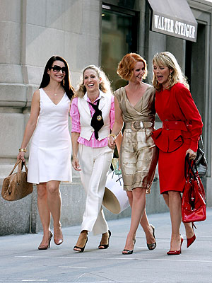 SEX IS BACK photo | Cynthia Nixon, Kim Cattrall, Kristin Davis, Sarah Jessica Parker