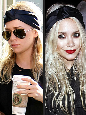 When it comes to accessories, it's share and share alike for the Olsen