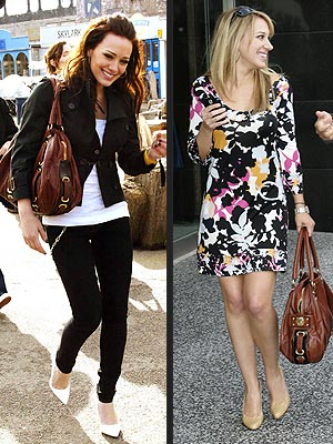 MARC JACOBS BAG photo | Haylie Duff, Hilary Duff