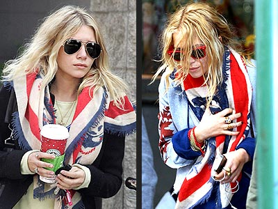 45 RPM SCARF photo | Ashley Olsen, Mary-Kate Olsen