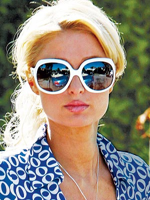 SQUARE FACE  photo | Paris Hilton