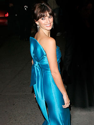 Penelope Cruz's blue dress