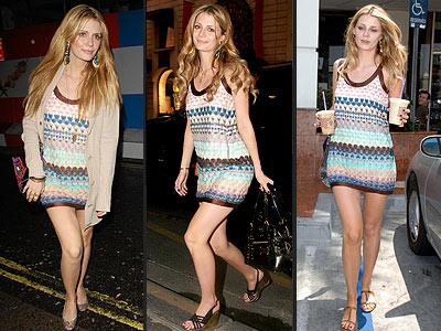 MISSONI DRESS photo | Mischa Barton