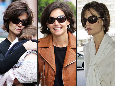 GIORGIO ARMANI SUNGLASSES  photo | Katie Holmes