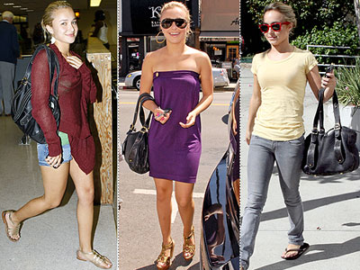 TRACY ZYCH PURSE photo | Hayden Panettiere