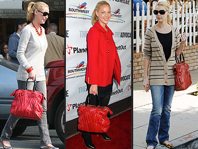 VALENTINO PURSE  photo | Katherine Heigl