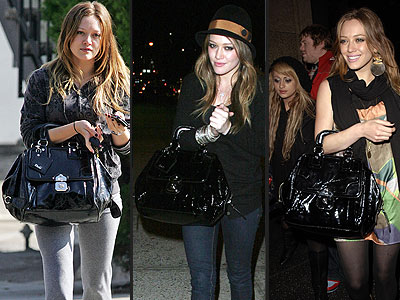 D&G PURSE  photo | Hilary Duff