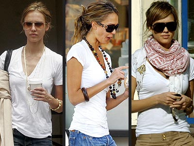 LnA T-SHIRT  photo | Jessica Alba