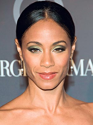 GREEN EYESHADOW  photo | Jada Pinkett Smith