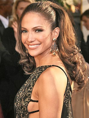 BOUFFANT PONYTAILS photo | Jennifer Lopez
