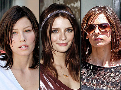 BRUNETTE HAIR photo | Jessica Biel, Mischa Barton, Sarah Michelle Gellar