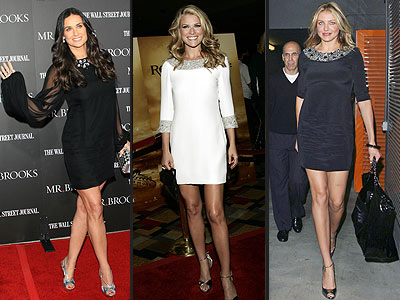 Demi Moore Ali Larter and Cameron Diaz add sparkling stones around the