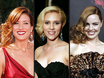 SIDESWEPT CURLS photo | Kate Walsh, Melissa George, Scarlett Johansson