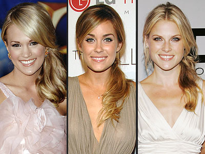 SIDE PONYTAIL photo | Ali Larter, Carrie Underwood, Lauren Conrad