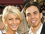 Apolo Anton Ohno & Julianne Hough Dish | Apolo Anton Ohno