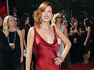 Kate Walsh Shows Off Her Dress