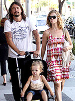 Dave Grohl Louise Post Dave Grohl and ...