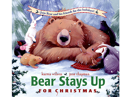 Bear Stays Up For Christmas: But Little Ones Drift Off To Sleep ...