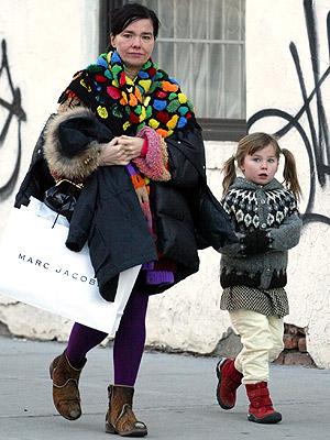 Björk and Her Pigtailed Princess, Ísadóra – Moms & Babies ...