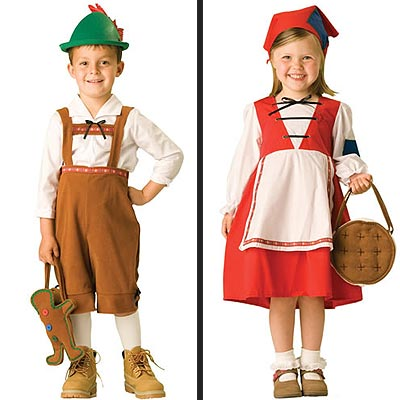 TEN CUTEST: Our Favorite Halloween Costumes - HANSEL AND GRETEL