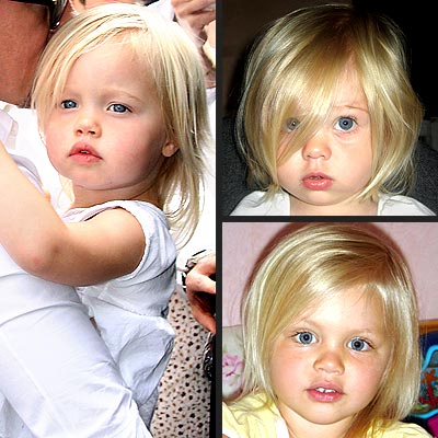 Celebrity Baby Photo on Celebrity Baby Look Alikes   Shiloh Jolie Pitt   Babies  Shiloh Jolie