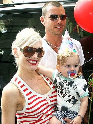 IT'S HIS PARTY photo | Gavin Rossdale, Gwen Stefani, Kingston Rossdale