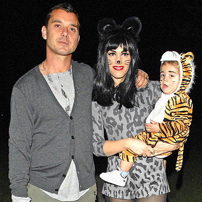 SPOTS AND STRIPES photo | Gavin Rossdale, Gwen Stefani, Kingston Rossdale
