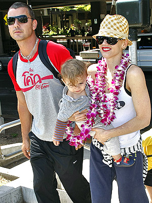 SAY ALOHA photo | Gavin Rossdale, Gwen Stefani, Kingston Rossdale