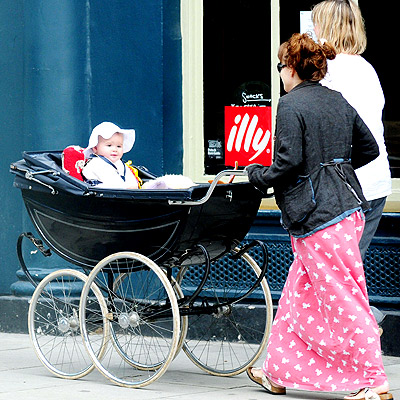 Silver Cross Balmoral pram photo | Helena Bonham Carter