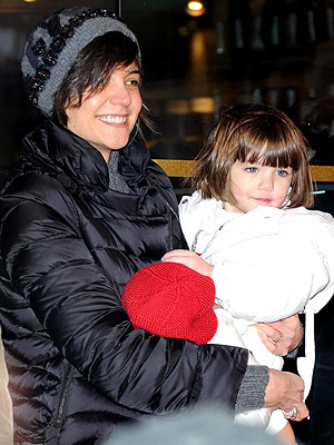 BRIGHT LIGHTS photo | Katie Holmes, Suri Cruise