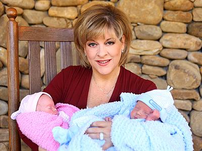 Photo of Nancy Grace & her Son   John David Linch