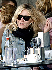 Kirsten Dunst Gets Lunch and Sunshine in L.A.