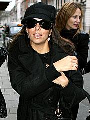 Eva Longoria Hits the Shops in London