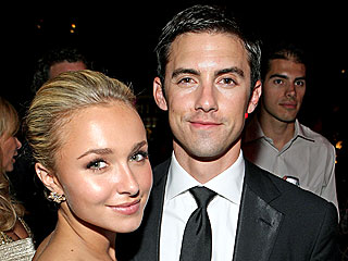 Hayden & Milo Can't Hide Their Affection at Dinner | Hayden Panettiere, Milo Ventimiglia