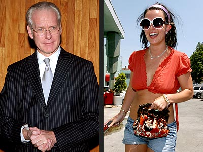  photo | Britney Spears, Tim Gunn