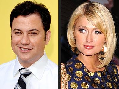 photo | Jimmy Kimmel, Paris Hilton