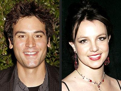 photo   Britney Spears, Josh Radnor