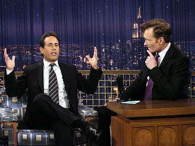 photo | Conan O'Brien, Jerry Seinfeld