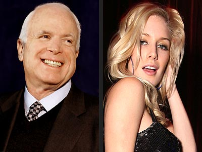  photo | Heidi Montag, John McCain