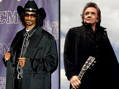 photo | Johnny Cash, Snoop Dogg