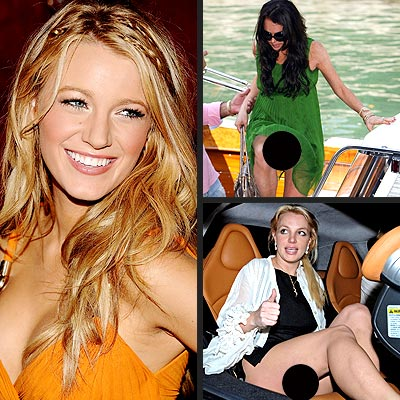 photo | Blake Lively, Britney Spears, Lindsay Lohan