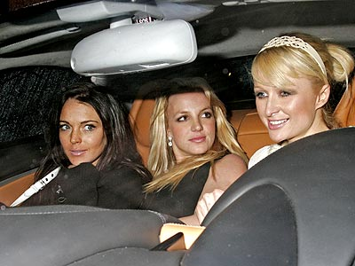 photo | Britney Spears, Lindsay Lohan, Paris Hilton