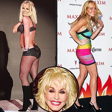 photo | Britney Spears, Dolly Parton, Lindsay Lohan