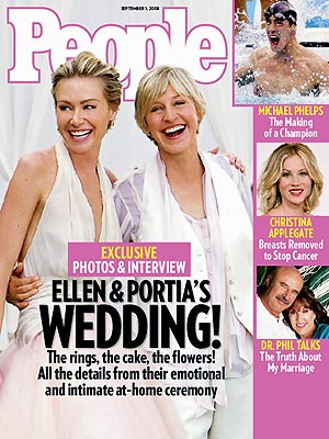  photo | Ellen DeGeneres, Portia de Rossi