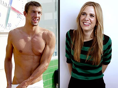 photo | Kristen Wiig, Michael Phelps
