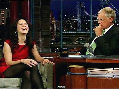 photo | David Letterman, Mary-Louise Parker